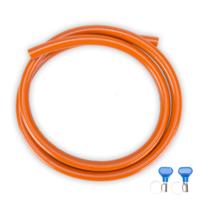 GIMEG HD GASSLANG PVC MET 2 SLANGKLEMMEN 1 M