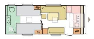 Adria Adora 613 HT 2021 MODEL, RIJKLAAR