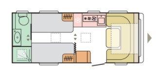 Adria Adora 572 UT 2021 MODEL, RIJKLAAR