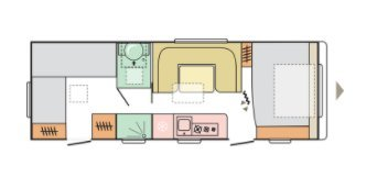 Adria Adora 673 PK DUBBEL AS, 2021 MODEL