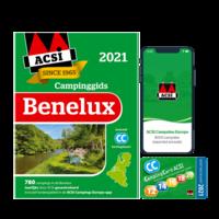 ACSI Campinggids Benelux + app 2021