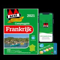 ACSI CAMPINGGIDS FRANKRIJK 2021  + APP
