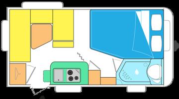 Caravelair Antares Style 420 RIJKLAAR
