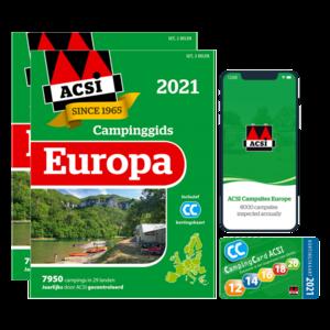 ACSI CAMPINGGIDS EUROPA 2021 + APP